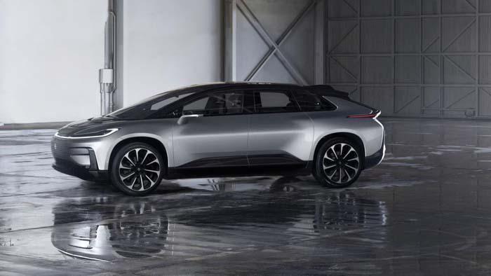 Faraday Future Presenteert Zelfrijdende Elektrische Auto
