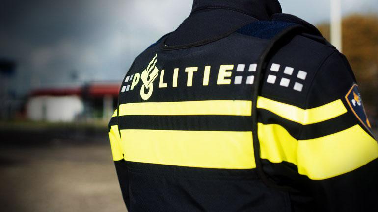 Politie Rotterdam Achterkant Politievest