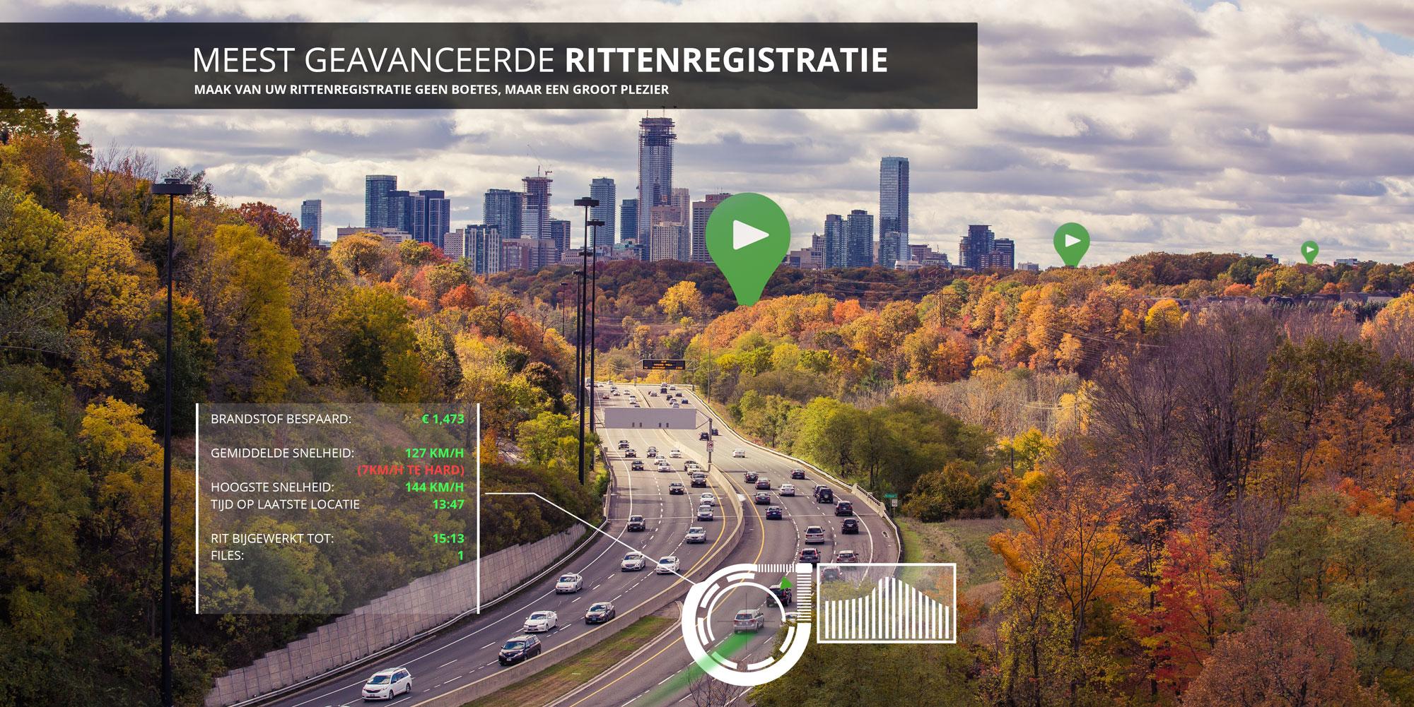 Meest Geavanceerde Rittenregistratie RouteVision