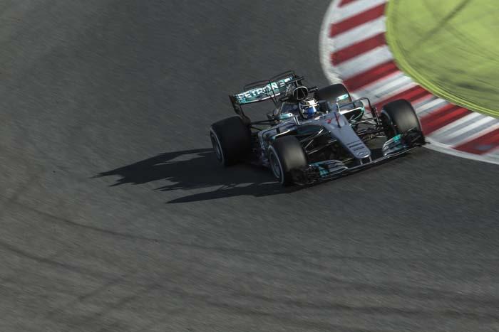 Formule 1-auto Petronas