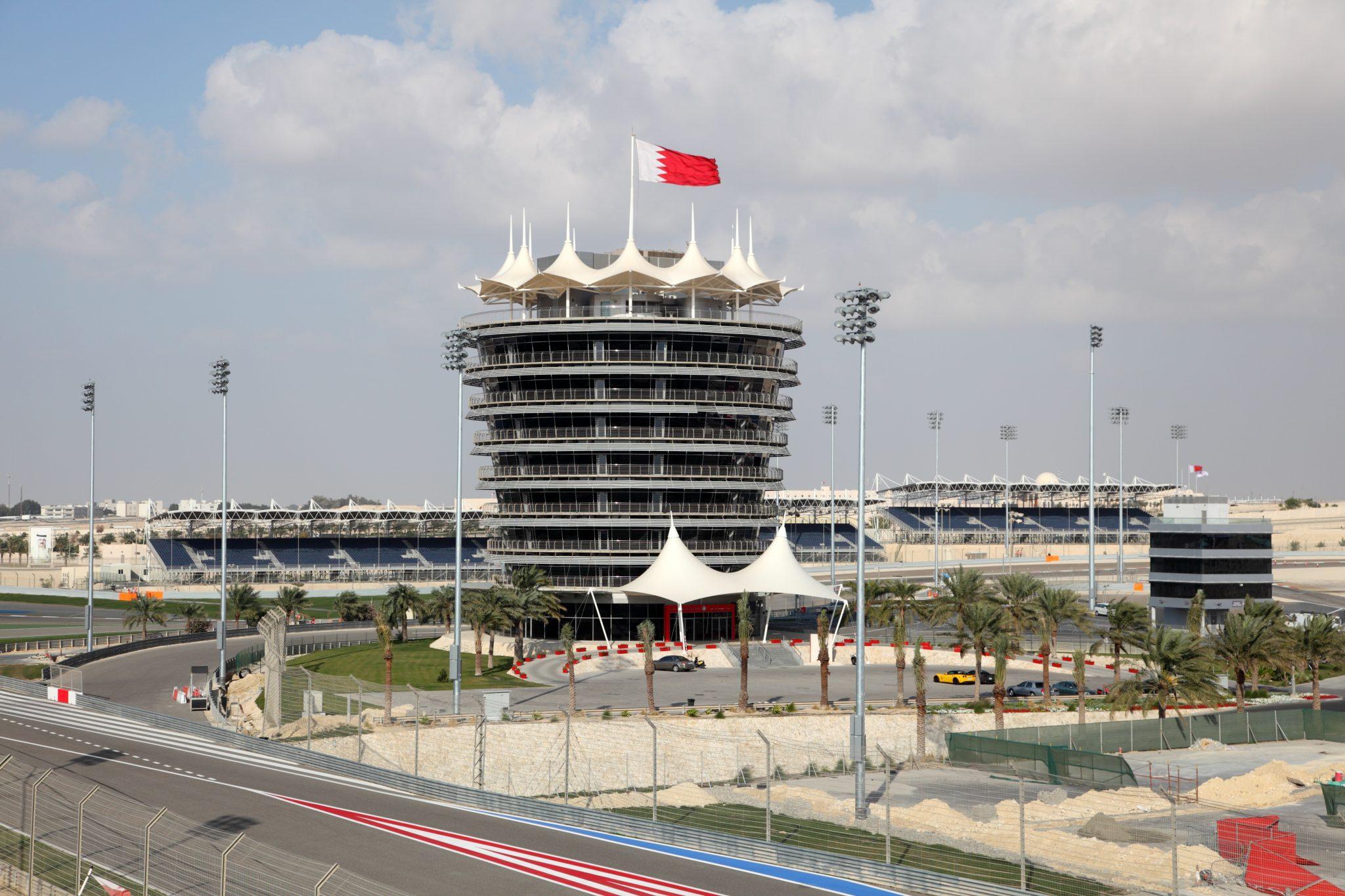 VIP toren en deel van het circuit in Barhein
