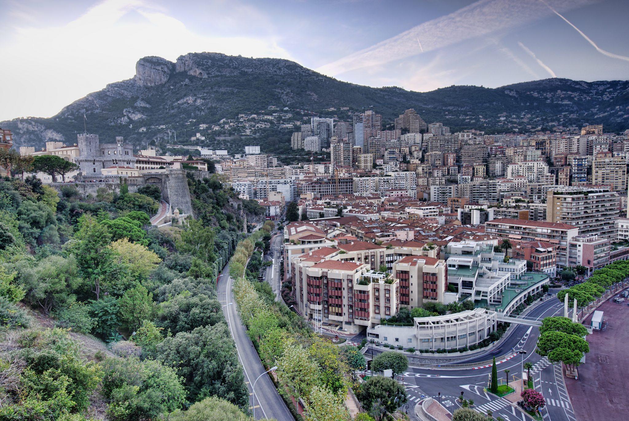 Formule 1 circuit Monaco