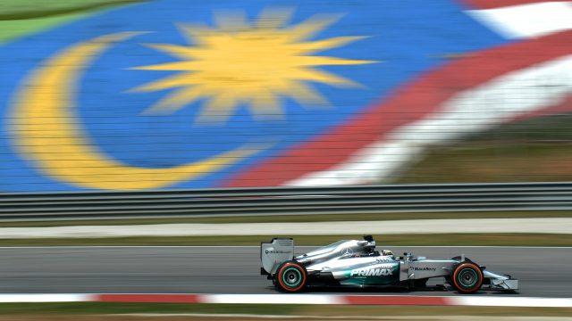 Formule 1 race, Sepang, Maleisië