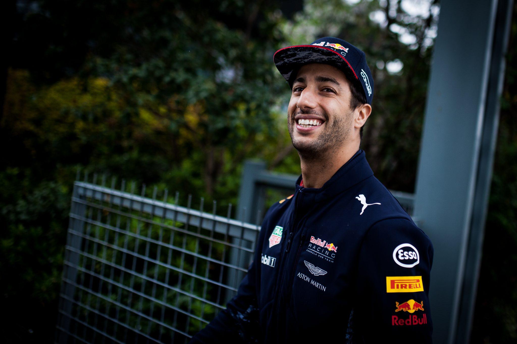 Daniel Ricciardo, Formule 1 coureur bij Red Bull Racing